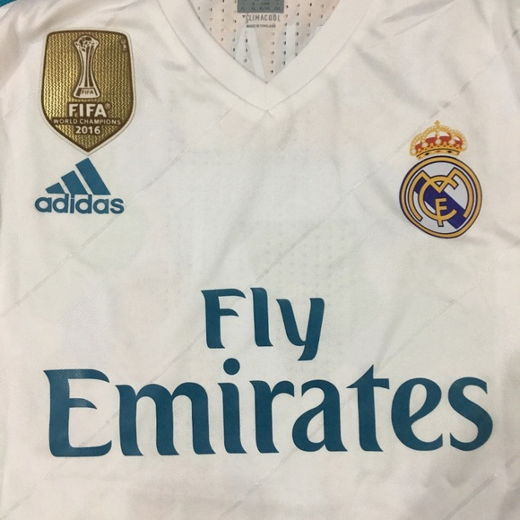 best loved 34b74 b9896 Real Madrid 17/18 Ronaldo #7 Mens Jersey NWT